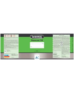 Lesonal Basecoat SB Mixed Color Gallon Label Each