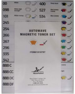 Sikkens Autowave® Magnetic Toner Number Set Each