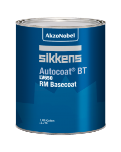 Sikkens Autocoat BT LV650 RM Basecoat Label Gallon Each