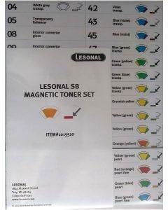 Lesonal SB MM Toner Magnet Set Each