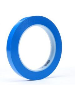 3M 471 PLASTIQUE TAPE BLUE 6MM 4716BL