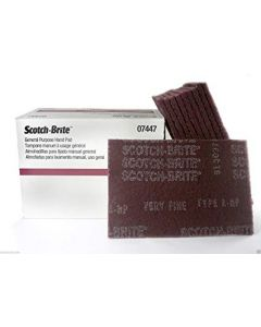 3M SCOTCH-BRITE HANDVEL ROOD MIDDEL 20ST