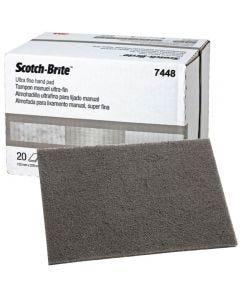 3M SBRITE PAD ULTRAFINE GREY 20PC E07448