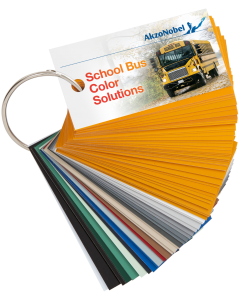 Commercial Vehicles North America School Bus Color Swatches