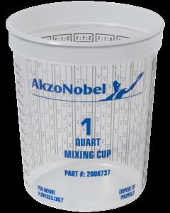 CV Mixing Cup Graduated 1QT (100/box)