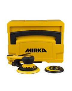 MIRKA DEROS650CV SCHUURMACHINE 150MM/5MM IN KOFFER