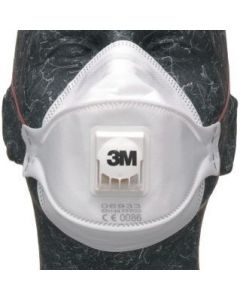 3M FFP3 DUST/FUME FOLD RESP.10PC 06933