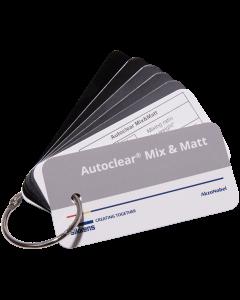 Sikkens Autoclear Mix&Matt - MATT LEVEL SWATCH