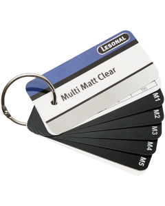 Wachlarz Lesonal Multi Matt Clear Swatch
