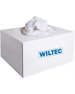 WILTEC POETSDOEKEN TRICOT WIT 10KG
