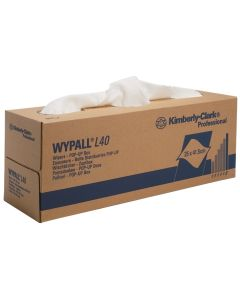 KC WYPALL L40 POETSDOEK WIT POP-UP DOOS 9ST