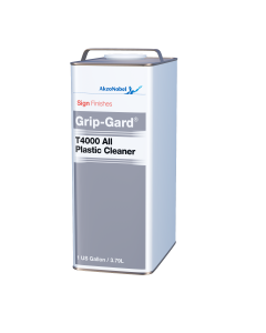 Sign Finishes Grip-Gard T4000 All Plastic Cleaner 1 US Gallon