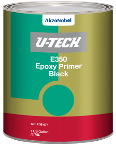 U-TECH E350 Black Epoxy Primer 1 US Gallon