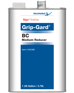 Sign Finishes Grip-Gard BC Medium Reducer 1 US Gallon