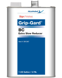 Sign Finishes Grip-Gard BC Extra Slow Reducer 1 US Gallon