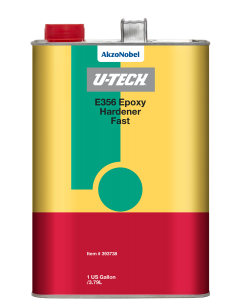 U-TECH E356 Epoxy Hardener Fast 1 US Gallon