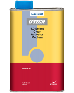 U-TECH 4.0 Select Clear Activator Medium 1 US Quart
