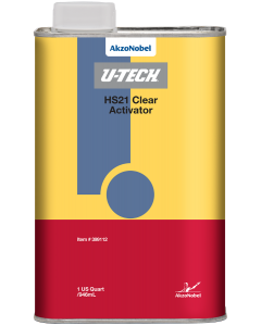 U-TECH HS21 Clear Activator 1 US Quart