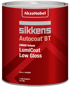 Sikkens Autocoat BT LV650 LumiCoat Low Gloss 1 US Gallon