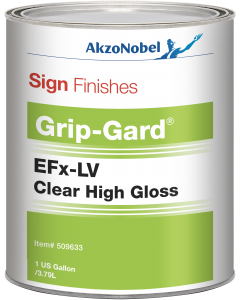 Sign Finishes EFx-LV High Gloss Clear 1 US Gallon