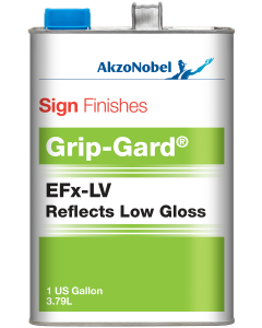 Sign Finishes EFx-LV Reflects Low Gloss (Reflective Clear) 1 US Gallon