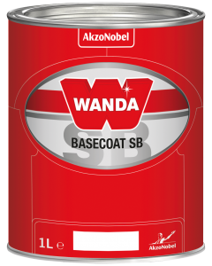 Wanda Basecoat Color MM 2925 Coarse Red Pearl Special 1L