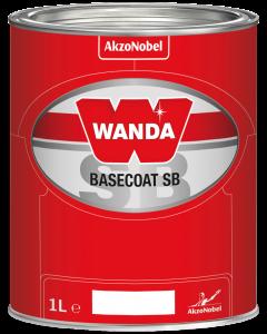 Wanda Basecoat Color MM 2903 Crystal Silver White Xyrallic 1L