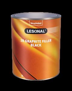 Lesonal 2K GPH Filler Black czarny 3L