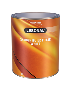 Lesonal 2K High Build Filler White 3L