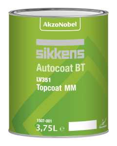 Sikkens Autocoat BT LV 351 Topcoat MM B344 3.75L