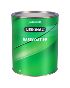 Lesonal Basecoat SB 82 MM Bright Maroon Transparent 1L