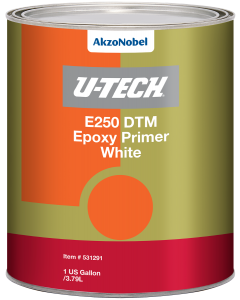 U-TECH E250 DTM White Epoxy Primer 1 US Gallon