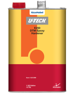U-TECH E250 DTM Epoxy Hardener 1 US Gallon