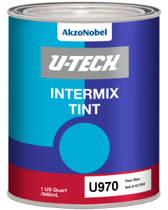 U-TECH U970 Intermix Tint Pearl Blue 1 US Quart