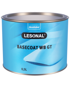 Lesonal Basecoat WB GT MM 200P Green Blue Pearl 0.5L