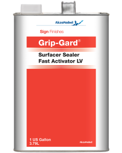 Sign Finishes Grip-Gard Surfacer Sealer Activator LV 1 US Gallon
