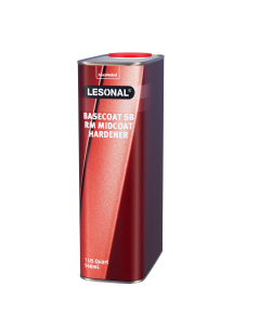 Lesonal Basecoat SB Ready Mix Mid-Coat Hardener 1 US Quart