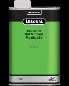 Lesonal Basecoat SB Ready Mix Midcoat Mazda 46V 1 US Quart