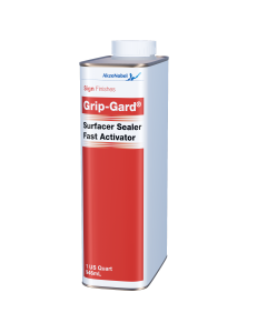 Sign Finishes Grip-Gard Surfacer Sealer Fast Activator 1 US Quart
