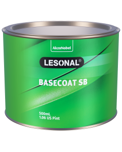 Lesonal Basecoat SB 308NC SEC Coarse Sparkling Silver 500ml