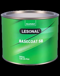 Lesonal Basecoat SB 308NS SEC Sparkle Silver Rainbow 500ml