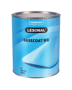 Lesonal Basecoat WB 120CH Yellow (Orange) Metallic 1L