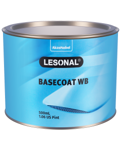 Lesonal Basecoat WB 308NF SEC Fine Sparkling Silver 500ml
