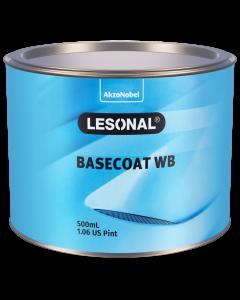 Lesonal Basecoat WB 308NM SEC Medium Sparkling Silver 500ml