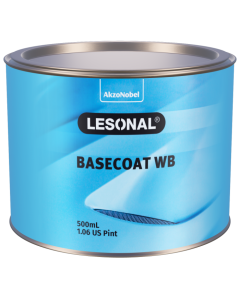 Lesonal Basecoat WB 306BR Brilliant Red 500ml