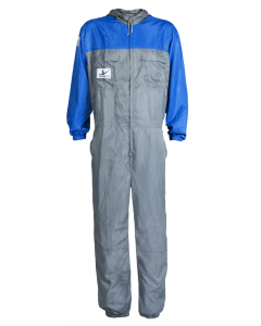 AkzoNobel i-wear Spray Coverall Extra-Small Grey/Light Blue Each