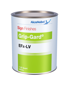 Sign Finishes Grip-Gard EFx-LV B624 Red Oxide Transparent 1 US Quart