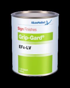 Sign Finishes Grip-Gard EFx-LV B641 Orange Yellow 1 US Quart