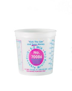 E-Z Mix 86oz Cup 25 Pack