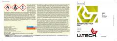 U-TECH Intermix Quart Label 50 Pack